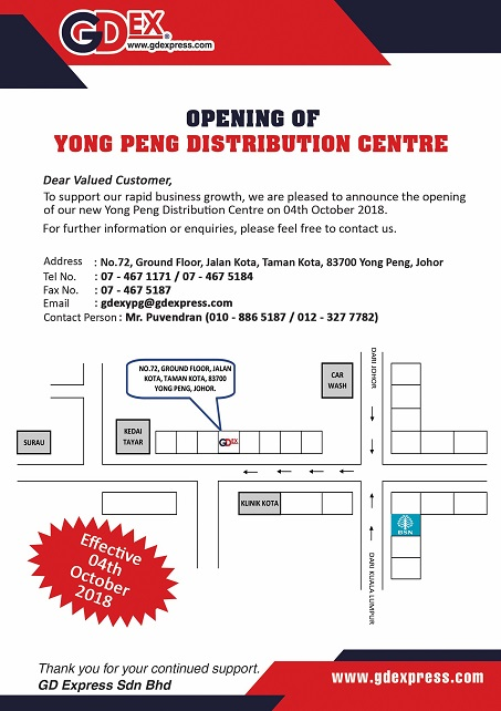 Opening of Yong Peng Distribution Centre