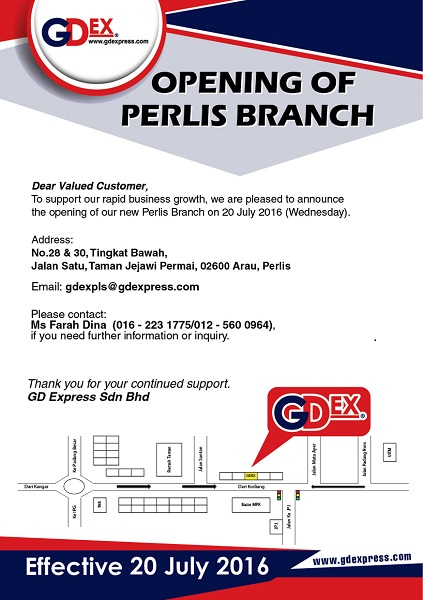 Opening of Perlis Branch