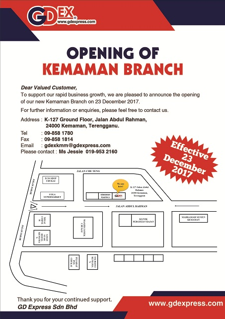 Opening of Kemaman Branch