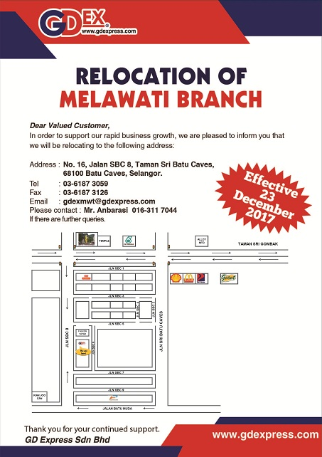 Melawati Branch Relocation